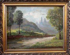 J. BERTONI (1889/1980) - Dedo de Deus RJ, ost, 45x60cm, assinado. Artista catalogado em Theodoro Bra
