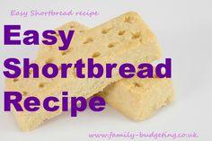 Easy shortbread