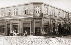 La Perla del Cautín, tienda de la familia Jamarne.