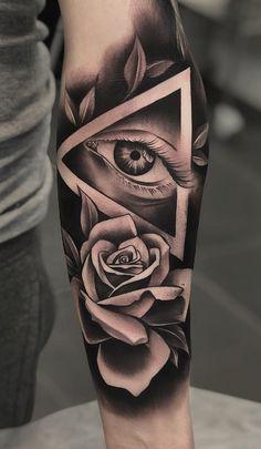 Black And Gray Tattoos Forearm Tattoos - Black and gray tattoos forearm & schwarze und graue tattoos unterarm & ava - Chicano Tattoos Sleeve, Forarm Tattoos, Forearm Tattoo Men, Rose Tattoos, Body Art Tattoos, Tattoo Arm, Buddha Tattoos, Maori Tattoos, Samoan Tattoo