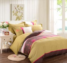 Luxury Bedding Set - gold