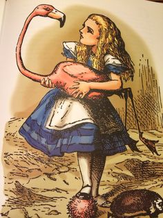 Beautiful old illustrations make perfect invites to an Alice-inspired bash.