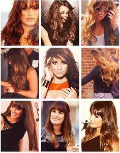 Lea Michele ❤ Hair **