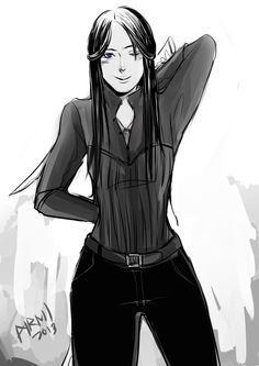 TID girls in their Shadowhunter gear: Cecily Herondale