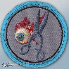 Running With Scissors Merit Badge