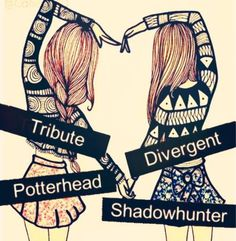 Tribute Divergent Potterhead Shadowhunter