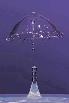 A lovely high speed stop action photo of a drop of water from Amazing Photos In The World I have always loved this kind of phtography