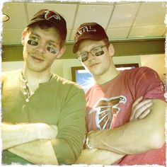 Joseph Morgan ...and Zach Roerig.  ...Gorgeous.
