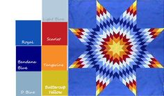 Image detail for -Diane's Native American Star Quilts: Designing Your Own Custom Star ...