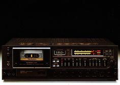 Technics' top-end tape deck of the late 70s, the RS-M95