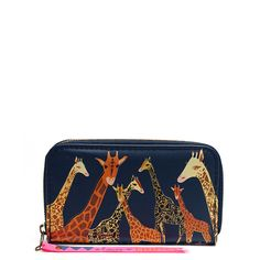 Collective Noun cute Giraffe Wallet | Little Moose | Quirky jewellery and playful accessories that raise a smile and stand out from the crowd