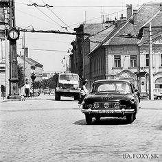 Bratislava, Prague, Painting Inspiration, Old Photos, Techno, Nostalgia, Street View, Europe, Retro