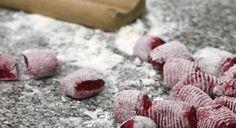 Ñoquis de remolacha Chefs, Pasta Integral, Sin Gluten, Montevideo, Meat, Portal, Holiday, Recipes, Koh Tao