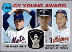 WHEN TOPPS HAD (BASE)BALLS!: CY YOUNG WINNERS- 1970 SUB-SET