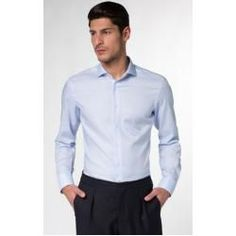Button-Down-Hemd Svenn - Easy Iron, weiß gemustert StrellsonStrellson Eterna Langarm Hemd Slim Fit EternaEterna Summer School Outfits, Casual Outfits For Teens, Stylish Work Outfits, Fall Outfits For Work, Mom Outfits, College Outfits, Business Professional Attire, Business Outfits Women, Office Outfits Women