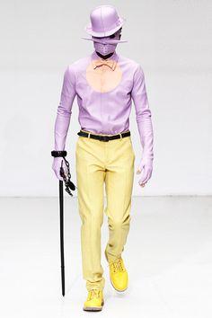 Hello, Tailor: Fall 2012 Menswear: Givenchy, John Galliano, Ann Demeulemeester, Berluti, Commes des Garcons, and Walter van Beirendonck.