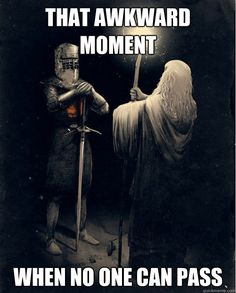 LOTR meets Monty Python