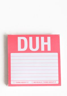 need this notepad.