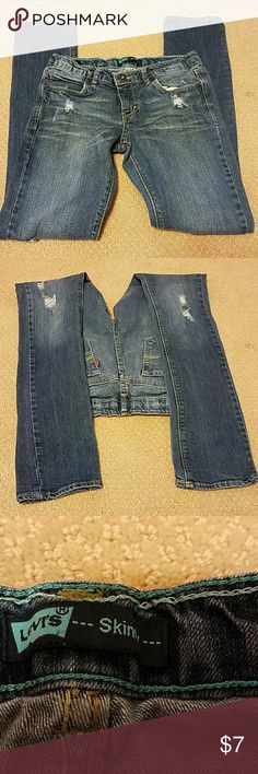 LEVIS JEANS GIRLS SIZE 14R!!! Nice pair of jeans in good shape!!! levis Bottoms Jeans