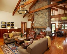 hunting cabin interiors | ... in Pine Creek - Home Bunch - An Interior Design & Luxury Homes Blog