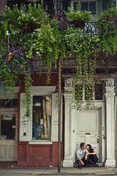 This shot is my favorite from an engagement photo session I did last week in the French Quarter...beautiful couple and locations...nice shot too HA :)