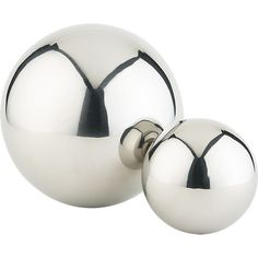 Stainless Steel Balls by cb2 #Decor