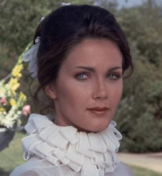 "Wonder Woman, ""I Do, I Do"" Lynda Carter, Classic Actresses, Beautiful Actresses, Actors & Actresses, Beautiful Old Woman, Pretty Woman, Wonder Woman Pictures, Victoria Principal, Bionic Woman"