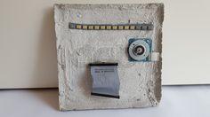 "Kunstobjekt aus Beton ""Connection Lost"" by #DingeausBeton"