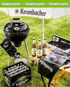 Perfekt vorbereitet für die nächste Grillparty – Mit Krombacher Radler ein Allround-Grillpaket im Wert von 300 Euro gewinnen