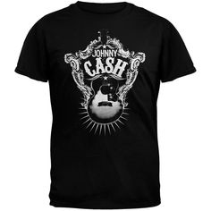 Johnny Cash - Guitar Target Soft T-Shirt