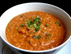 Rote Linsen - Curry - The most healthy and beautiful recipes Curry Recipes, Veggie Recipes, Indian Food Recipes, Asian Recipes, Soup Recipes, Healthy Recipes, Lentil Recipes, Vegetarian Recipes, Clean Eating