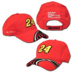 The Jeff Gordon Speed Slot men s hat features a large embroidered  24 in  the center 8f23de060905