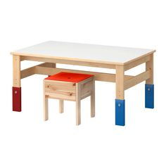 SANSAD Children's table IKEA Adjustable in three heights; adapt as your child grows.
