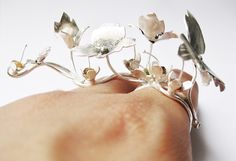 Michelle Pujol jewellery Image of Trailing weed ring