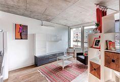 Morar em um apartamento pequeno não significa morar mal! Muito pelo contrário, quando bem projetada, uma residência pequena pode oferecer qualidade de vida