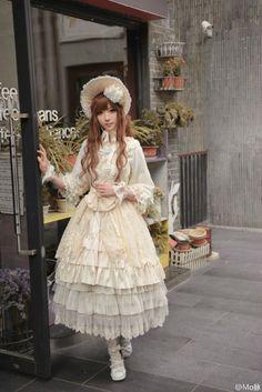"Longer Skirts - ""/cgl/ - Cosplay & EGL"" is imageboard for the discussion of cosplay, elegant gothic lolita (EGL), and anime conventions. Harajuku Fashion, Kawaii Fashion, Japanese Street Fashion, Asian Fashion, Princess Daisy Costume, Mode Lolita, Lolita Style, Steampunk, Lolita Cosplay"