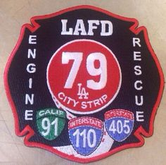LOS ANGELES CITY  FIRE DEPARTMENT PATCH LAFD STATION 79