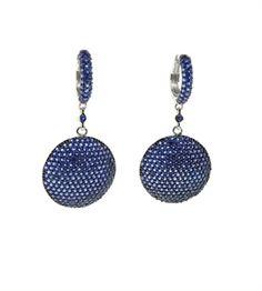 Sapphire Drop Earring