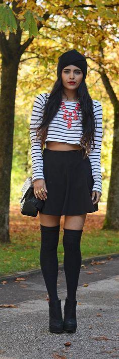 Fall Fashion.. gotta get me some stockings