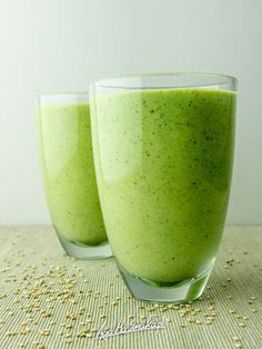 Smoothie Drinks, Fruit Smoothies, Healthy Diet Recipes, Dinner Recipes, Food And Drink, Appetizers, Vegan, Cooking, Tableware