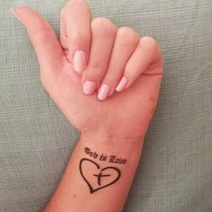 God is Love tattoo!!