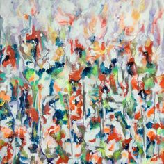 Acrylic on paper painting. #impressionistartist #interiordesign #interiores #abstractpainting #contemporary