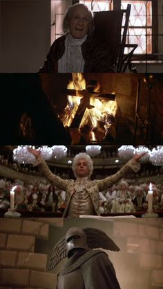 Amadeus (1984) F. Murray Abraham, Tom Hulce Director: Milos Forman. About life and death of 18th century musical genius Wolfgang Amadeus Mozart since composer Salieri's point of view.