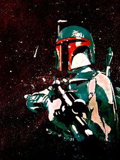 Star Wars Boba Fett Artwork