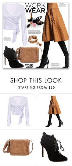 """""""Yoins Work Wear"""" by jecakns ❤ liked on Polyvore featuring Chanel"""