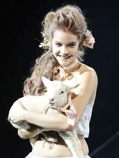 """marilynne: """" Etam Lingerie Runway Show S S 2011 """""""
