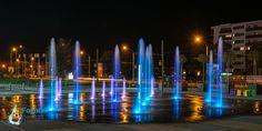 Water jets Fountain Design, Portfolio Design, Jets, New York Skyline, Exterior, Water, Travel, Interiors, Gripe Water
