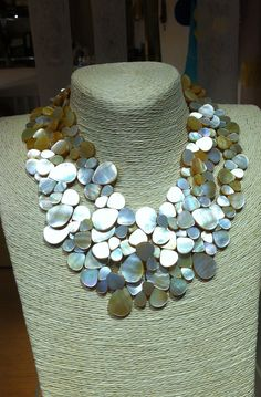 Mother-of-Pearl Necklace, by Mimi Scholer
