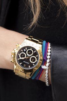 Reloj dorado - TELVA Bangle Bracelets 5fa99d6f38cbc