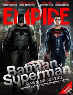 Batman v Superman – Ecco i due supereroi sulla copertina di Empire